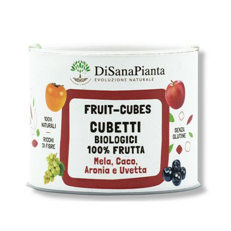 Fruit-Cubes Mela Caca Aronia Uvetta