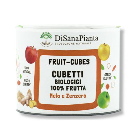 Fruit-Cubes Mela Zenzero