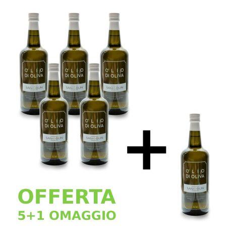 Olio di oliva 5+1